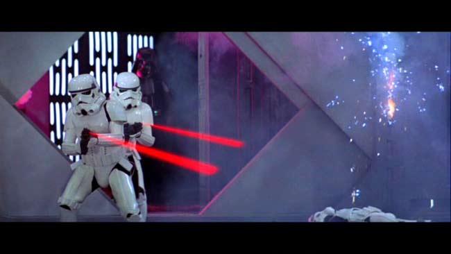 Star Wars à l'origine du Laser Game