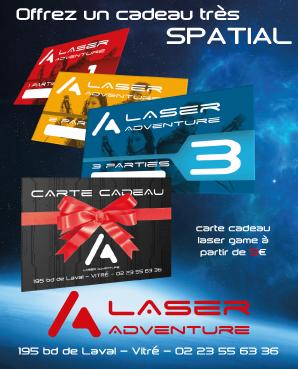 carte cadeaux laser game idée cadeaux noel 2018