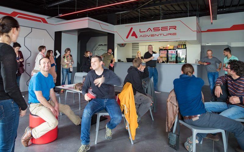 Séminaire d'entreprise et team building laser game